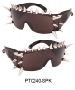 SPIKE FRAME SUNGLASSES, WOW