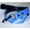 BLUISH COLORS STUD BELTS