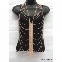 BODY CHAINS IN GOLD COLOR