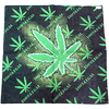 POT LEAF BANDANA WITH 100% LEGAL  PRINT