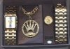 PIMP WATCH SET KING ONLY SILVER IN STOCK