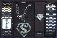 PIMP WATCH SET SUPERMAN