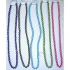 30 INCH ASSORTED COLORS GLASS PEARL NECKLACE