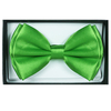 LIME GREEN COLOR BOW TIE