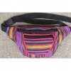 FANNY PACK ASSORTED STRIPE COLORS, MADE IN GUATAMALAR