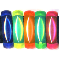 NEON COLOR 3/4 INCH TRANSLUCENT BANGLE