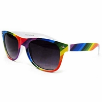 BLUE BROTHERS STYLE IN RAINBOW COLOR STRIPES(PRIDE)