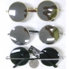 LENNON SHAPE FRAMES WITH MIRROR LENS AND SPRING TEMPLE QUALITY