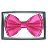 HOT PINK BOW TIE IN DISPLAY BOX