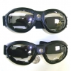 CLEAR LENS GOGLES, ALL BLACK