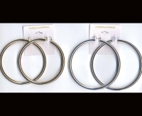 "HOOP, THICKER ,3"" DIAM, EARRING DZ/"