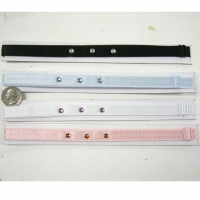 BRA STAP HEADBAND IN 4 COLORS WITH 3 GEMS.
