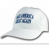 MAKE AMERICA GREAT AGAIN WHITE CAP