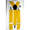 YELLOW RICH COLOR 1 3/8 INCH WIDE SUSPENDER