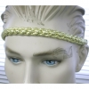 GOLD & SILVER BRAIDED METALIC HEADBAND