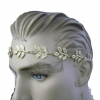 LEAF HEADBAND gold and silver