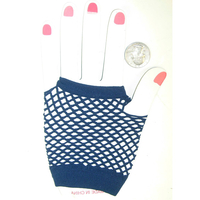 NAVY COLOR FISHNET GLOVE, SPECIAL PRICE $3/DZ
