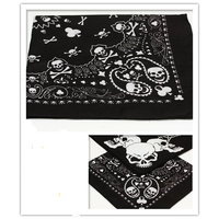SKULL BANDANAS 2 DIFFERENT STYLES ON THE DOZEN