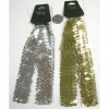 GOLD/SILVER SEQUIN HEADBANDS, 2 PACK