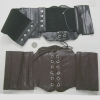 BLACK & BROWN CORSET BELT