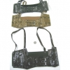SNAKE SKIN CORSET STYLE SHOULDER STRAP GARMENT  gray only left