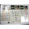 TATTOO  METALLIC GOLD/SILVER ASSORTED DESIGNS