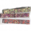 PAISLEY PRINTS HIPPY HEADBANDS  IN 4 ASSORTED COLORS