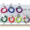 BRIGHT COLOR SPIKE BRACELETS