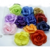 FLOWER HAIR CLIPS 6 INCH DIAMETER, BULBOUS