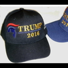 TRUMP 2016 HAT WITH MAKE AMERICA GREAT AGAIN ON SIDE