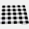 WHITE, GREY, & BLACK CHECKERBORD BANDANA