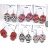 DAY OF THE DEAD STYLE EARRINGS