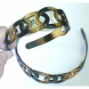 TORTOISE HAIR BAND, 10 DZ OR MORE PRICE BECOMES .50/DZ
