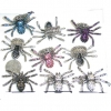 SPIDER GEM RING IN ASSORTED COLORS, STRETCH ON BAND, HIGH QUALIT