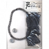 FISHLINE WIRE BELLY/HIP SIZE JEWELRY ALL BLACK