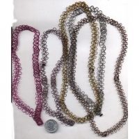 FISHLINE  BELLY AREA JEWELRY IN ASSORTED COLORS