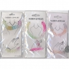 FISHLINE JEWELRY SET WITH COLORS FADING TO ANOTHER COLOR