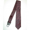 PINK STARS ON A BLACK NECKTIE