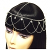 SILVER AND CLEAR GEMS HEADCHAINS
