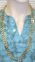 GOLD CAHIN 36 INCH NECKLACE STYLE 2