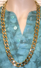 GOLD CHAIN NECKLACE, 36 INCHES LONG, STYLE 4