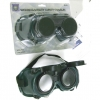 WELDING /UTILITY SAFETY GOGGLES, ROUND LENS