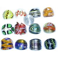 GLASS RINGS COOL DESIGNS