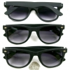 BLUES BROTHERS FRAMES, RUBBER FEEL TOUCH, DARK LENS, NICE QUALTY