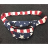 NEPAL MADE STARS & STRIPES FANNIE BAG 100% COTTON