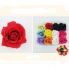 1 FLOWER HAIR CLIP IN ASSORTED COLORS