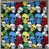 SKULLS BANDANA IN ASSORTED COLOR SKULLS