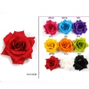 FLOWER HAIR CLIP ASSORTED COLORS
