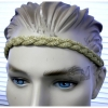 GOLD COLOR METALLIC 80&#39S LOOKING HEADBAND
