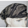 BLACK/GRAY TYE DYE HEADBAND MADE IN THAILAND
